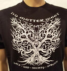 Narcotics Anonymous - NA Faith Tree - 2 Sided T-Shirt - Black- S-4X - 100 cotton