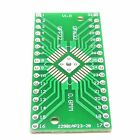 PCB Converter QFN32 QFP32 SMD to DIP32 0.8mm / 0.65mm Pitch Adapter Board W132