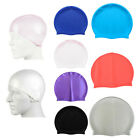 Swimming Pool Cap Unisex Latex Swim Hat 1 Size Fit All Water Resistant Shower ES