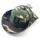 Bucket Hat Boonie Hunting Fishing Outdoor Cap Wide Brim Military Unisex Dreamed