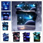 Fashion New 3D Galaxy Bedding Sets Universe Outer Space Duvet cover Bed Sheet for sale  Shipping to Canada