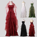 Vintage 50's Masquerade Dress Ball Gowns Formal Cocktail Evening Party Long Prom