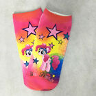 Kid Girls Sock My Little Pony Rainbow Soft Ankle Socks Stockings Cartoon Cute