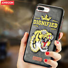 Joyroom 3D Case For iPhone 6s 7 Plus Tiger Snake Eagle Embroidery Leather Cover
