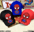 New Boy Girl Baseball Cap Spider-Man Q Cartoon Kids Snapback Children Hat New