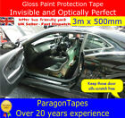 3m x 50mm Helicopter Bike Frame Protection Tape Shield clear Fixie van truck BMX