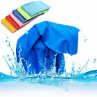 Sports Exercise Sweat Summer Ice Cold Towel PVA Hypothermia Cooling Towel WS