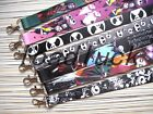Lot Mix Nightmare Before christma lanyards neck key chain Straps Charm Party L19