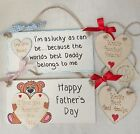 Dad I Love You Birthday Gifts  Birthday Gifts for Dad Grandad Gramps Personalise