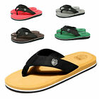 Summer Mens Flip Flops Beach Sandals Lightweight EVA Sole Comfort Thongs 40 44