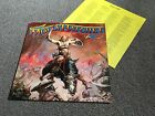 MOLLY HATCHET - BEATIN' THE ODDS - 1980 LP WITH LYRIC INSERT EX - LOOK IN SHOP!!