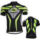 Men's Pro Cycle Jerseys Breathable Bike Shirts Top Quick Dry Cycling Wear M-3XL