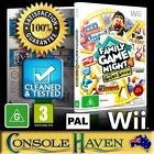 (Wii Game) Family Game Night 4 / IV: The Gameshow (Hasbro) (G) (Party) PAL