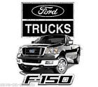 Ford F150 Ford Pickup Trucks JERZEES SLEEVELESS T-Shirt SM To 5XL Asst. Colors