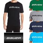 Bauer Core SS T-Shirt Mens Sports Casual Tee Cotton Track Top Various Colours