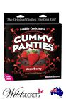 NEW Pipedream Edible Crotchless Gummy Panties Strawberry, Sex Accessory Toy