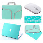Carry Bag+Hard Case+Wireless Mouse+KB Cover for Macbook Pro/Air/Retina 11/13/15""