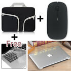 """Carry Bag+Hard Case+Wireless Mouse+KB Cover for Macbook Pro/Air/Retina 11/13/15"""""""
