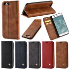 Vintage Magnetic Flip Leather Card Stand Wallet Case Cover For Huawei P10 Plus