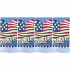 """Set of 4 Frut/Vegetablei Collecton  Printed Terry Kitchen Towels Size: 15"""" x 25"""""""