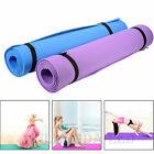 Yoga Mat Workout Exercise Gym Fitness Pilates Non-Slip Meditation Pad Mat 4mm