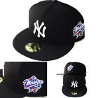 New Era MLB New York Yankees 5950 Fitted Hat 1998 World series Side Patch Cap on Ebay
