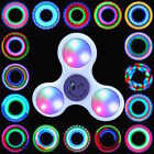 LED Fidget Spinner Hand Lights EDC Stress Relief Focus Adult Toy Kids upgrade