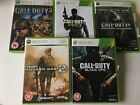 5 Games for Microsoft Xbox 360 - Call of Duty 3 4 MW2 MW3 Black Ops - Shooters