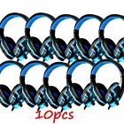 LOT 3.5mm Surround Stereo Gaming Headset Headband Headphone with Mic for PC SE