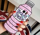 3D Cute Cartoon animal Silicone Bottle Soft Rubber Case Cover For Samsung&iPhone