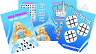 Pack of 12 - Ice Princess Fun and Games Activity Sheets Frozen Party Bag Fillers