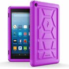 Case For Amazon Fire HD 8 2017 Poetic【Turtle】Heavy Duty Protection Silicone Case