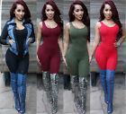 Sexy Women Jumpsuit Bandage Bodycon Playsuit Clubwear Party Piece Pants Colorful
