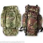 SALE!! ARMY CADET RUCKSACK 60 LITRE PADDED BACK & SHOULDERS MTP BTP DPM BACKPACK