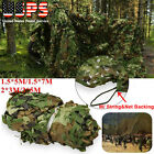 3 x5 Meters Woodland Camouflage Net Jungle Camo Netting Camping Military Hunting