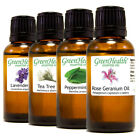 GreenHealth 30ml Essential Oils 100% Pure 50+ oils Free Shipping
