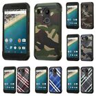 Hybrid Impact Rugged Shockproof Phone Case Cover Protector For LG Nexus 5X H790