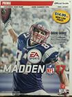 Madden 2017 Official Guide Game Not Included PlayStation 4 Xbox FREE SHIPPING sb