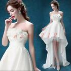 Hot Women's Tails Floral Sleeveless Dress Evening Prom Party Wedding Bridesmaid