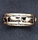 Dolphin Sterling Silver Ring #1 - Sizes 6-8 - .925 Pure Silver