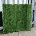 Artificial Conifer Hedge Garden Fence Balcony Privacy Screening Green Wall, 3m L