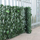 Artificial Hedge Ivy Leaf Garden Fence Privacy Screening Balcony Green Wall Roll