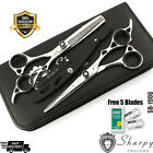 Professional Hairdressing Scissors Salon Hair Cutting Barber Shears Set  6.5""