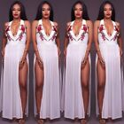 Women Summer Casual Long Maxi BOHO Evening Party Dress Beach Dresses Sundress
