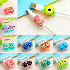 Cartoon USB Charger Cable Cord Saver Protector Cover for iPhone 6 7 plus Phone