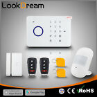 Luxury APP Wireless GSM Home Alarm Wireless House Security Burglar Systems DHL