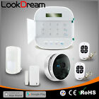 Perfect WIFI+GSM Wireless House Alarms Systems Burglar Security w IP Camera DHL