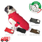 Waterproof coat with detachable padding for Dogs French bulldog 100% Italian