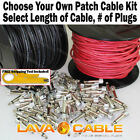 LAVA CABLE TIGHTROPE V2 PEDAL BOARD CABLES - CREATE YOUR OWN KIT SOLDER FREE NEW