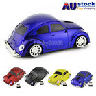 Wireless Optical 2.4G Beetle Car Mouse Mice +USB Receiver for Laptop PC Notebook